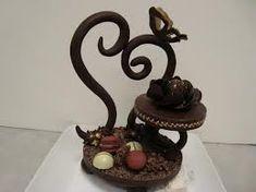 chocolate showpiece - Google Search