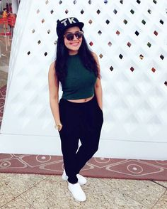 Size - Bust till 36 Waist till 32 Fabric- knitted top and high quality jeggings with pockts both sid. Bollywood Actors, Bollywood Celebrities, Neha Kakkar Dresses, Sonu Kakkar, Neha Pendse, Beautiful Bollywood Actress, Little Fashion, Western Outfits, Female Singers