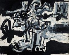 Antonio Saura, Crucifixion 12, 1959, huile sur toile, 200x250,5 cm, Paris, Musée national d'Art moderne/Centre Pompidou  © Philippe Migeat - Centre Pompidou, MNAM-CCI (diffusion RMN)  © Antonio Saura, Succession Antonio Saura, www.antoniosaura.org / Adagp, Paris
