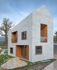 clavienrossier architectes — Two in one villa — Image 1 of 16 - Europaconcorsi