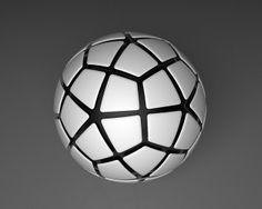 Sphere tessellation #3 by Turinboy, via Flickr