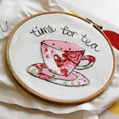 Freehand Machine Embroidery Workshop - So Sew Pretty, Dumfries Freehand Machine Embroidery, Free Motion Embroidery, Machine Embroidery Applique, Embroidery Hoop Art, Cross Stitch Embroidery, Embroidery Patterns, Sewing Crafts, Sewing Projects, Sewing Appliques
