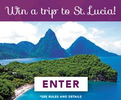 Relax and Restore in St.Lucia! Getaway with a four-night stay at Anse Chastanet, round-trip airfare for two and a gift basket from TUMI. Enter now: tastingtable.com/stlucia2015