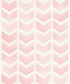 Pink Watercolor Chevron | I Got Lucky Inspiration