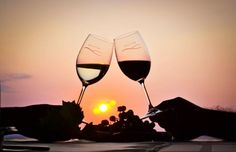 More photos here: Romantic wine tasting in the sunset White Wine, Red Wine, Good Wife, Family Love, Beautiful Sunset, People Around The World, Embedded Image Permalink, Wine Tasting, Good News