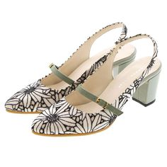ジェリービーンズ JELLY BEANS バックバンドストラップパンプス 135-7441 (花柄) -靴とファッションの通販サイト ロコンド