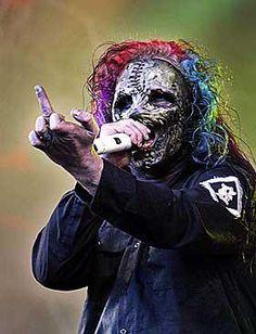 Corey Taylor in Slipknot...