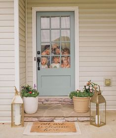 Front door color: Rainy Afternoon by Behr