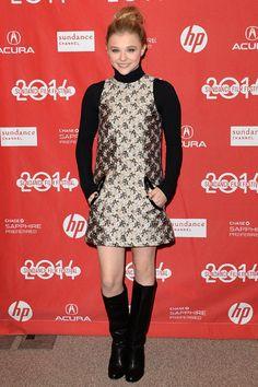 Chloe Grace Moretz in Christopher Kane