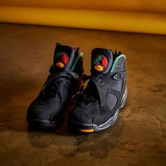 """separation shoes 4b53f 247bb Air Jordan 8 """"Urban Jungle"""" . . Available tomorrow at the SNKR store ."""