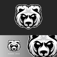 Logo Mascot Pubg Good For Esport Logo Owl Logo, Bear Logo, Wild Sports, Gaming Tattoo, E Sport, Logo Concept, Symbol Logo, My Animal, Panda Bear