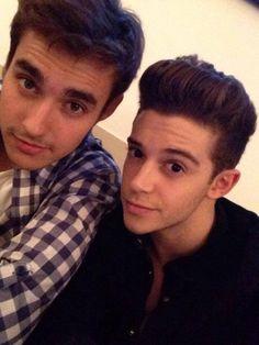 Jorge y Ruggero los dos mejores amigos