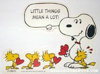 Snoopy & Woodstock Valentine's Day Cutout from Hallmark