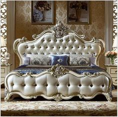 European adult bedroom furniture suits solid wood furniture can be customized … - bedroom furniture ideas Luxury Bedroom Furniture, Bed Furniture, Living Room Furniture, Furniture Design, Quality Furniture, Cheap Furniture, Furniture Stores, Furniture Buyers, Furniture Ideas