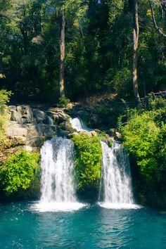 fabul natur, waterfalls, waterfal chile, beauti place, small waterfal, chile lindo, chile chile, mi chile, doubl waterfal