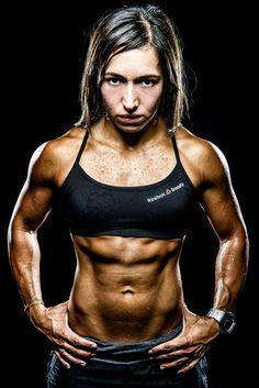 CrossFit Central coach and CrossFit Games Team Member Jessica Estrada. A true athlete.