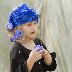Little girl with blue hood (2) by Rucsandra Calin