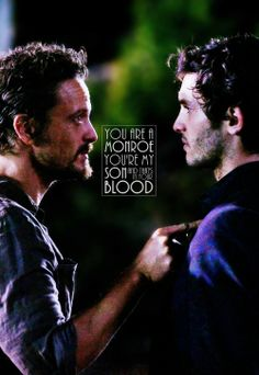 Revolution ... Sebastian and Connor Monroe ... You are a Monroe. You're my son and that's in your blood.
