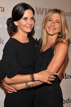 Wie bitte? Diese Promis haben die gleichen Ex-Partner! Courteney Cox und Jennifer Aniston dateten . . .