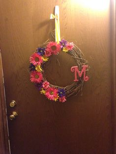 My summer wreath!