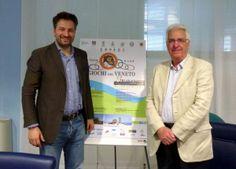 Raffaele Speranzon e Gianfranco Bardelle hanno presentato la terza edizione dei Giochi del Veneto - Caorle 2013