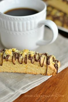 Chocolate Orange Biscotti: a delicious breakfast treat, COOKIES FOR BREAKFAST! @Shugary Sweets