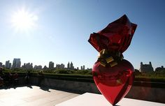 Jeff Koons on the roof-NYC