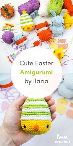 Meet the fabulous crochet designer Ilaria Caliri with this cute Easter amigurumi! Find out more on the LoveCrochet blog.