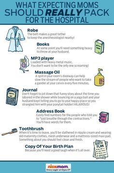 What Expecting Moms Should REALLY Pack for the Hospital | More LOLs & Funny Stuff for Moms | NickMom
