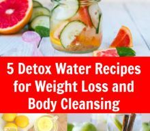 5 Detox Water Recipes for Weight Loss and Body Cleansing