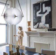 Tour the Apartment of Gabriel Hendifar and Jeremy Anderson of Apparatus Studio on @SavvyHome