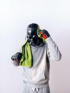 10 fotos que provam que Darth Vader é gente como a gente
