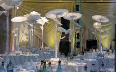 Photo Gallery: Papering the House: Newberry Brothers Creates a Paper-decor Wedding | Special Events Magazine