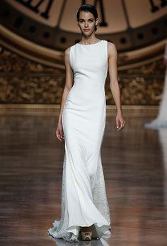 Brides.com: . Wedding dress by Pronovias