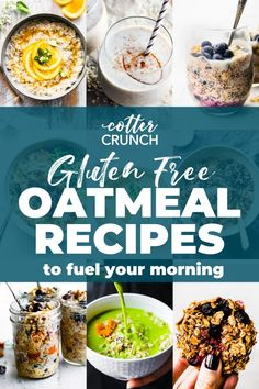 These oatmeal recipes are easy and perfect for quick breakfast meals. They are both delicious and nourishing to the body. Here are 8 ways you can make oatmeal the star of your breakfast. We've got overnight, instant pot, slow cooker options as well as vegan, dairy free and paleo too! #oatmealrecipes #vegan #dairyfree #healthybreakfast Banana Oatmeal Recipe, Healthy Oatmeal Recipes, Vegetarian Recipes Easy, Healthy Eating Recipes, Healthy Meal Prep, Healthy Breakfast Recipes, Cooking Recipes, Healthy Eats, Snack Recipes