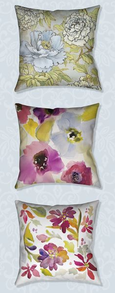 New spring florals have arrived at Laural Home! Mix & match these art-inspired pillows. BUY 2 PILLOWS GET 1 FREE!