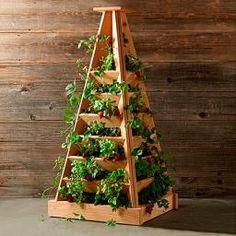 Pflanz-Pyramide, Höhe 120 cm, Breite 56 cm, Länge 56 cm