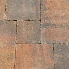 Klinkers & stenen - Abbeystones Getrommelde Bestrating Zomerbont wildverband