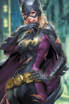 Leituras de BD/ Reading Comics: Ilustração: Batgirl por Stanley Lau (Artgerm)