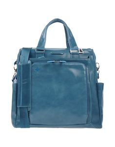 Piquadro Handbag in Teal for Men (Deep jade)