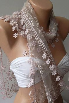 Beautiful, light scarf.