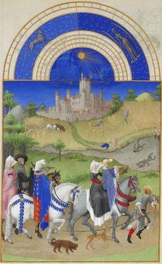 Mois d'août – les Très Riches Heures du duc de Berry