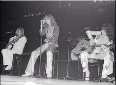 John Paul Jones - Robert Plant - Jimmy Page