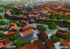 Milano_Romana_Porta_Argentea Roman History, Old Images, Ancient Rome, Byzantine, Empire, Mansions, Architecture, House Styles, Blog