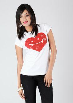 Buy Chimp Printed Women's Round Neck T-Shirt: T-Shirt