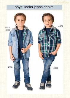 blog milon jeans denim moda masculina infantil