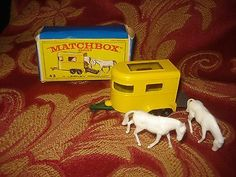 VINTAGE LESNEY MATCHBOX #43 PONY TRAILER MINT IN BOX CLASSIC TOYS - http://www.matchbox-lesney.com/?p=16992