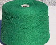 Kelly Machine Knitting Yarn, Kelly Knitting Yarn, Kelly Cone Yarn, Christmas Green, Holiday Green by stephaniesyarn on Etsy