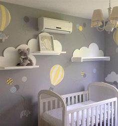 Nursery – - Babyzimmer ideen Nursery Kinderzimmer The post Nursery appeared first on Babyzimmer ideen. Baby Boy Room Decor, Baby Room Diy, Baby Room Design, Baby Bedroom, Baby Boy Rooms, Baby Boy Nurseries, Nursery Room, Diy Baby, Girl Room