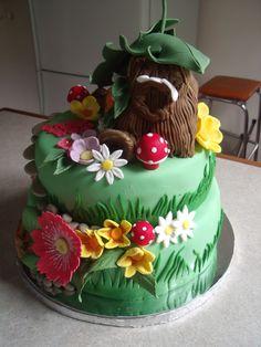 fairy house cake - Google Search